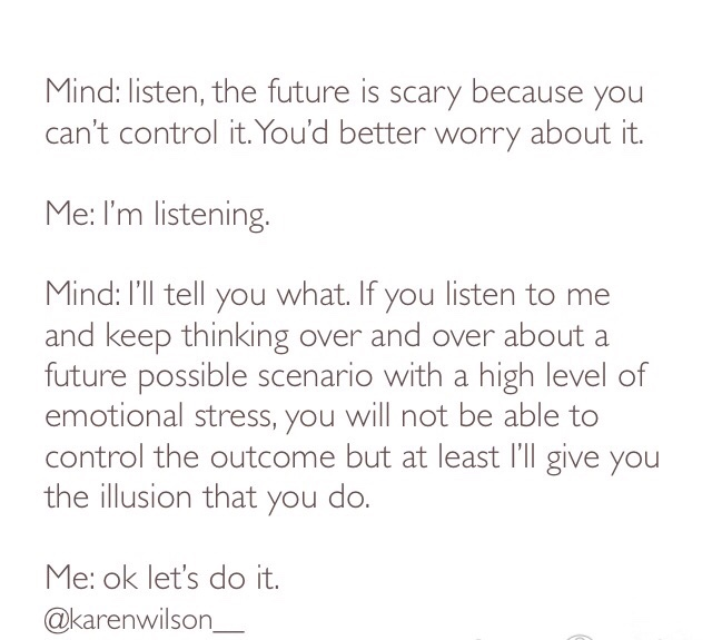 Meditate to control your mind